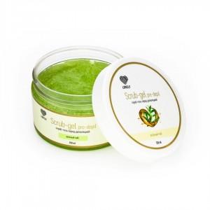 Скраб-гель  перед депиляцией 250г LOVELY (зеленый чай)