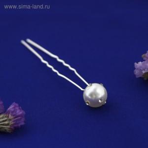 Шпилька жемчужина, с украшениями, с камнями (15)