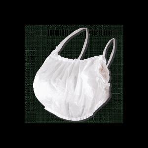 Бюстье спанбонд белый