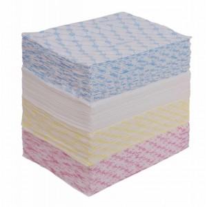 Салфетка 30*30 100 шт спанлейс 40 гр  цветные (280)
