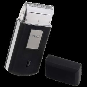 ШЕЙВЕР Wahl Mobile shaver Akku 230V 50Hz black/silver/мини-бритва 3615-0471