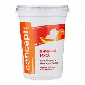 Маска FUSION Яичный мусс увлаж. с экстрактом манго 450мл CONCEPT 16114