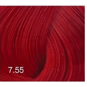 Перманентный крем-краситель Expert Color 100 мл 7/55 русый интенсивный красный