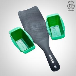 Планшет для мелирования с контейнерами Mustang LPM04 Зеленый