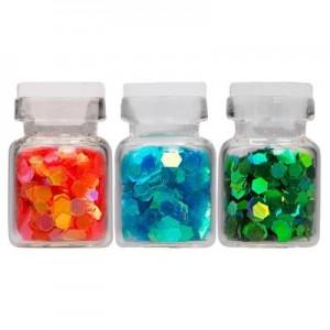 Декор Fish scales в стеклянной бутылочке (в ассортименте)IRISK