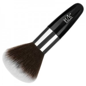 Кисть макияжная большая Gray, для пудры, короткая ручка IRISK