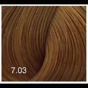 Перманентный крем-краситель Expert Color 100 мл 7/03 русый натурально-золотистый