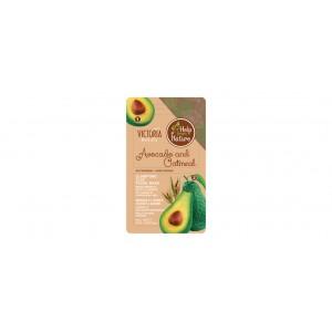 Глиняная минеральная маска с авокадо и овсянкой - 7+7мл (9х16)
