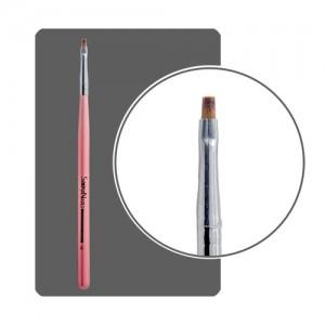 Кисть прямая для китайской росписи с цветной ручкой №1 КРР-1 Формула-Профи