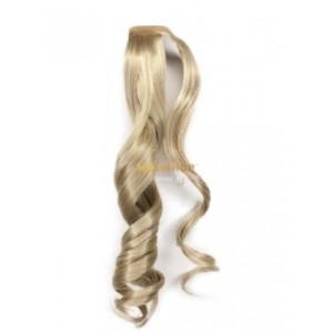 Хвост на липучке HairUp! цвет Light Champagne+Milk  52см (75гр) HAIRSHOP