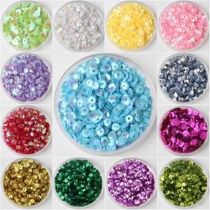 Блестки-пайетки разноцветные (в ассортименте)