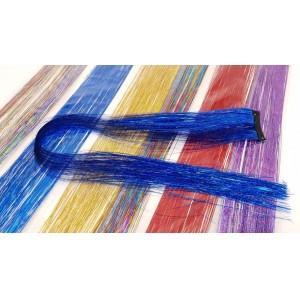 Зажим с цветными прядками RA-2406 1ШТУКА