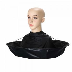 Накидка-зонтик для стрижки волос
