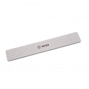 Пилка для ногтей зебра прямоугольной формы 180/180 грит ARTEX