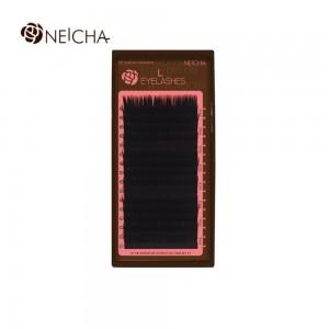 Ресницы черные L NEICHA Twinkle 16 линий 0,10 MIX(8,8,9,9,9,10,10,10,10,11,11,11,12,12,13,13)