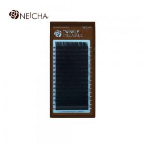 Ресницы черные L NEICHA Twinkle 16 линий 0,07MIX(8,8,9,9,9,10,10,10,10,11,11,11,12,12,13,14)