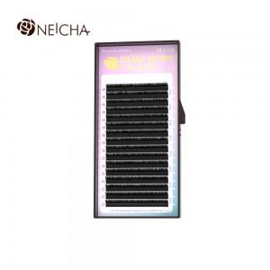 Ресницы черные NEICHA Double Velvet 16линий B 0,10MIX (8,8,9,9,9,10,10,10,10,11,11,11,12,12,13,14)