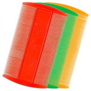 Расческа-гребень двухсторонняя Neon H11-01(в ассортименте) IRISK