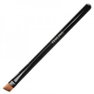Кисть макияжная скошенная для бровей, искусственный ворс В531-02 IRISK