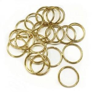 Кольца для кос (золото) уп.20шт.