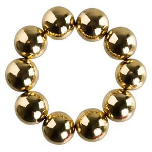 Набор магнитных шариков для дизайна гель-лаком Кошачий глаз, 10 шт. (02 Золото) Б615-20 IRISK