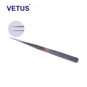 Пинцет VETUS TS-12 прямой 135 мм