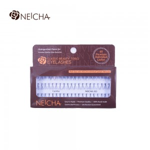 Ресницы NE пучковые № 303 узелковые 10 в пучке, 60 пучков MIX IK (10,12,14)