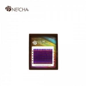 Ресницы цветные NEICHA Violet MINI 6 линий B 0,10 MIX 8.2 (8-13)