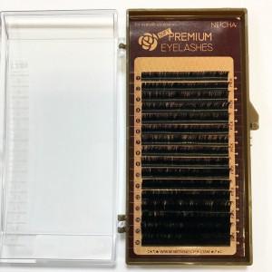 Ресницы черные NEICHA Premium 16 линий B 0,12 MIX (8,8,9,9,9,10,10,10,10,11,11,11,12,12,13,14)