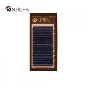 Ресницы черные NEICHA Premium 16 линий B 0,07 MIX (6,7,8,9,9,10,10,10,10,11,11,11,11,12,12,12)