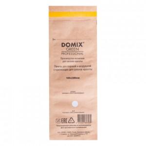 Крафт-пакеты коричневые 100х200 для стерилизации и хранения инструментов DOMIX