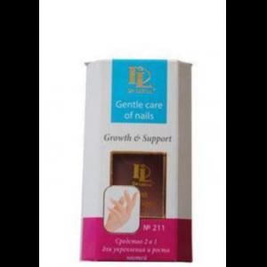 211 - 2 в 1 средство для укрепления и роста ногтей (Crowth & Support)
