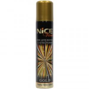 Лак для волос золото 75мл